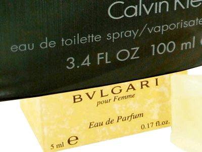 Perfumes - diferença na concentração