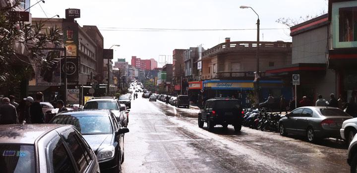 Avenida Sarandí - Rivera, Uruguay