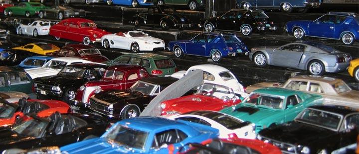 Miniaturas de Carros na Fronteira