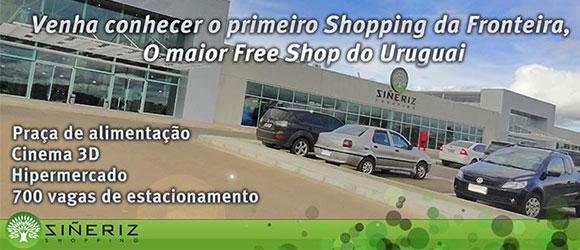 Imagem de Divulgação - Siñeriz Free Shop