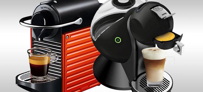 Dolce Gusto ou Nespresso? Hmmm cheirinho de café expresso