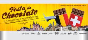 Promoção Festa do Chocolate - Neutral Free Shop
