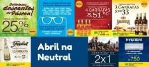 Neutral Duty Free Shop: Promoções de Abril