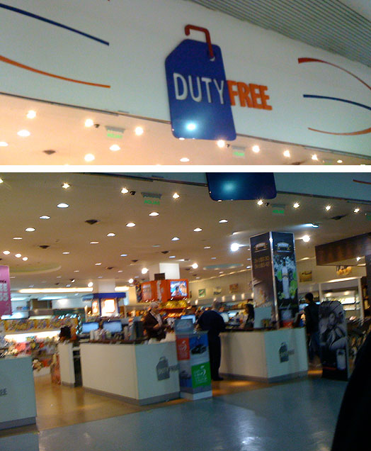 Duty Free - Desembarque do Aeroporto de Carrasco