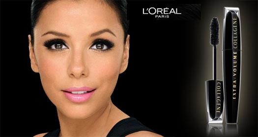 Concorra a um Rímel L'Oréal Extra-Volume Collagene