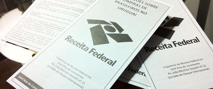 Receita Federal Distribui Cartilha Com Orienta Es Sobre Compras No Exterior Compras Na Fronteira