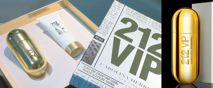 Sorteio Kit Carolina Herrera New York 212 VIP