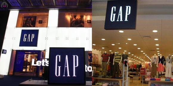 Gap agora perto de você