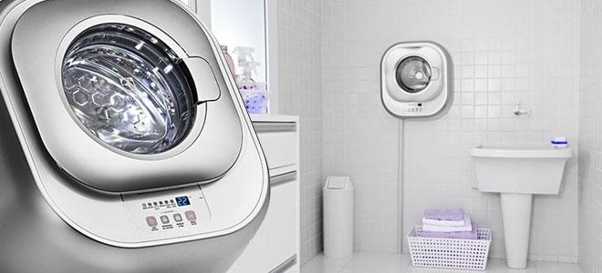 Lavadora e secadora de roupas compactas compras na fronteira - Lavadora secadora pequena ...