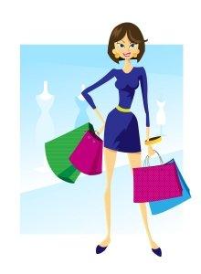 mulher-compras