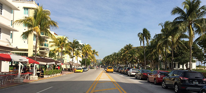 Ocean Drive - South Beach - Miami Beach