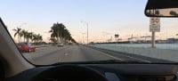 Dirigindo nos EUA (Miami) com habilitação brasileira