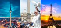 Berlim, Roma e Paris – Aviso de Viagem