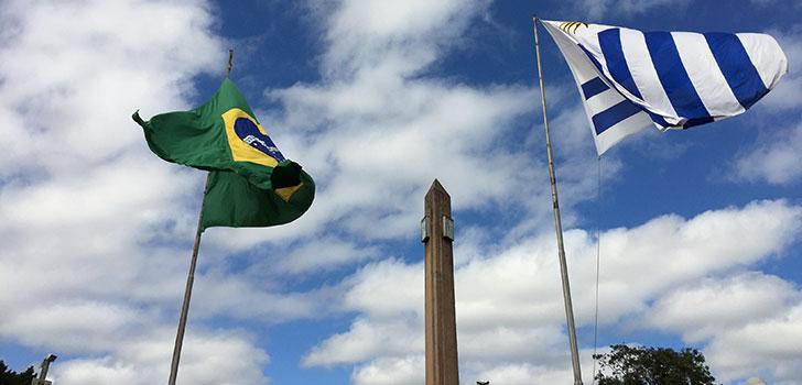 Brasil - Uruguai e as estradas